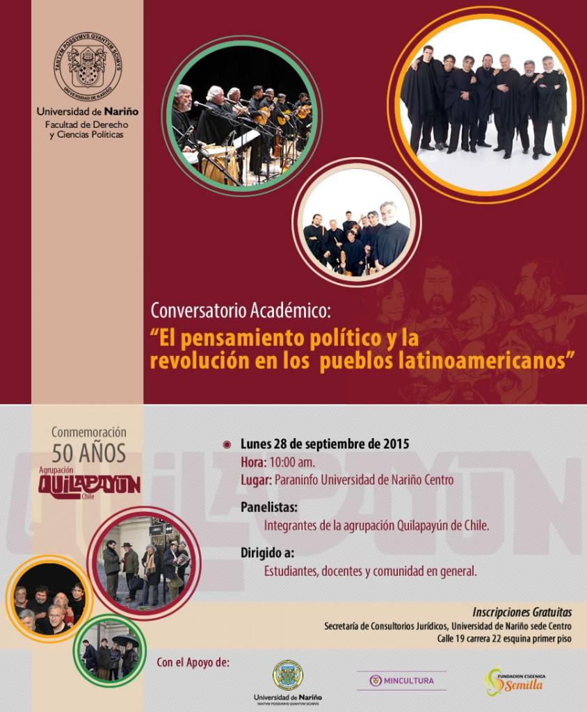 afiche quilapayun