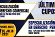 Especializaciones Julio